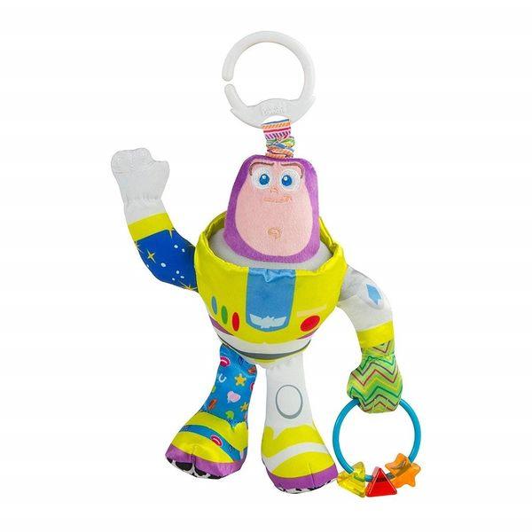Lamaze拉梅茲 - 玩具總動員 巴斯光年 Buzz Lightyear 揉揉捏捏外出吊掛玩具
