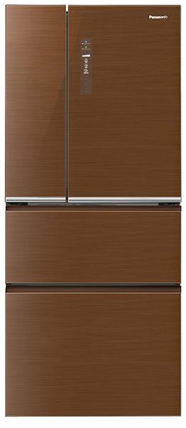 【國際牌Panasonic】ECONAVI 610L四門變頻電冰箱。翡翠棕 (NR-D618NHG NR-D618NHG-T)