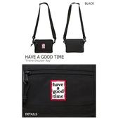 IMPACT Have A Good Time Frame Shoulder Bag 韓國 側背 小包 黑 隨身包