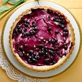 藍莓起司派 7吋/ 600g_ 愛家純素 非基改純淨素食 全素美食 素起司派