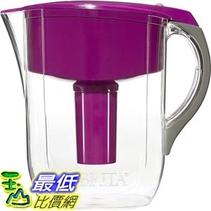 [106美國直購] Brita 新款濾水壺 Brita Large 10 Cup Grand Water Pitcher with Filter - BPA Free - Violet