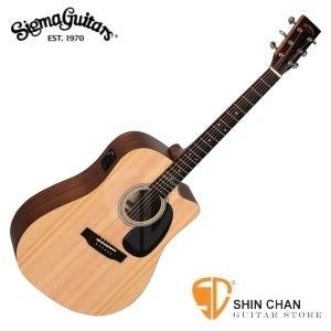Sigma DMC-STE 電木吉他/41吋切角單板民謠吉他 (DMC STE/雲杉面單板/經典D桶身/切角) 附贈吉他袋