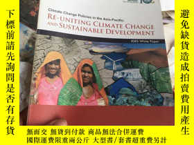 二手書博民逛書店RE罕見UNITING CLIMATE CHANGE AND S