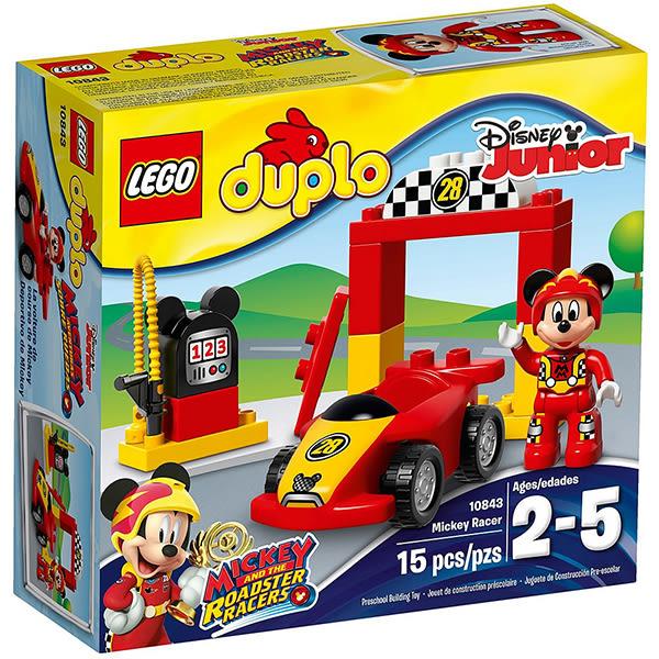 【LEGO 樂高積木】得寶系列-米奇賽車手 LT-10843