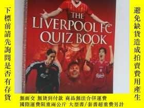 二手書博民逛書店THE罕見LUVERPOOLL FC QUIZ BOOK 英超利