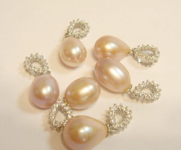 珍珠項鍊 Voeu願望系列  ( 紫羅蘭 ) 一顆