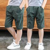 618好康鉅惠男童短褲夏季裝薄款棉麻七分五分中褲子