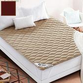 床墊保護墊榻榻米水洗防滑學生宿舍1.8米1.5m 薄款床褥 米蘭街頭 igo