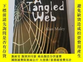 二手書博民逛書店A罕見Tangled Web (Cambridge English Readers: Level 5)Y286