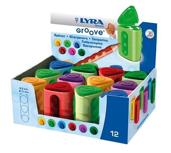 LYRA Groove雙孔削筆器