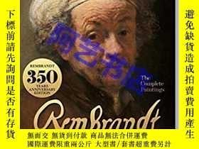 二手書博民逛書店倫勃朗繪畫全集罕見Rembrandt. The Complete