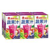 寶吉蔬果汁葡萄莓果250ml x 6【愛買】