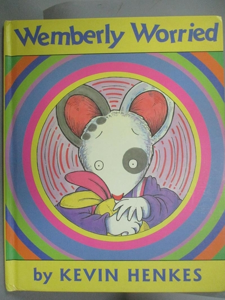 【書寶二手書T3/原文小說_PEJ】Wemberly Worried_Henkes, Kevin