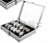 (萬聖節)手錶收納盒12位手錶箱 鋁合金錶箱 帶鎖 手錶盒 展示箱 收納盒