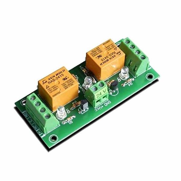 Denkovi 中繼板 24VDC 2 Channel Relay Board 適用Arduino or Raspberry PI PIC AVR ARM [2美國直購]