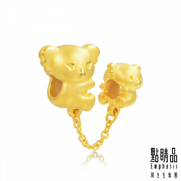 點睛品 Charme系列 幸福無尾熊 黃金串飾
