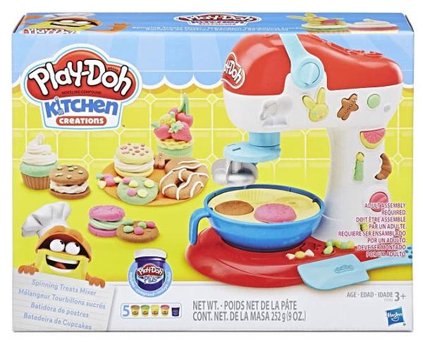 《 Play - Doh 培樂多黏土 》廚房系列轉轉蛋糕遊戲組 / JOYBUS玩具百貨