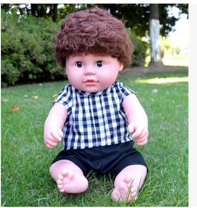 幸福居*仿真娃娃嬰兒全軟膠會說話的睡眠洋娃娃智能唱歌寶寶兒童玩具女孩15(主圖款)