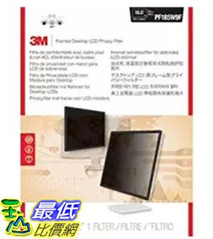 [美國直購] 3M PF185W9F 螢幕防窺片 Privacy Screen Protectors Filter for 18.5 Widescreen - 16:9 ,245 mm x 424 mm
