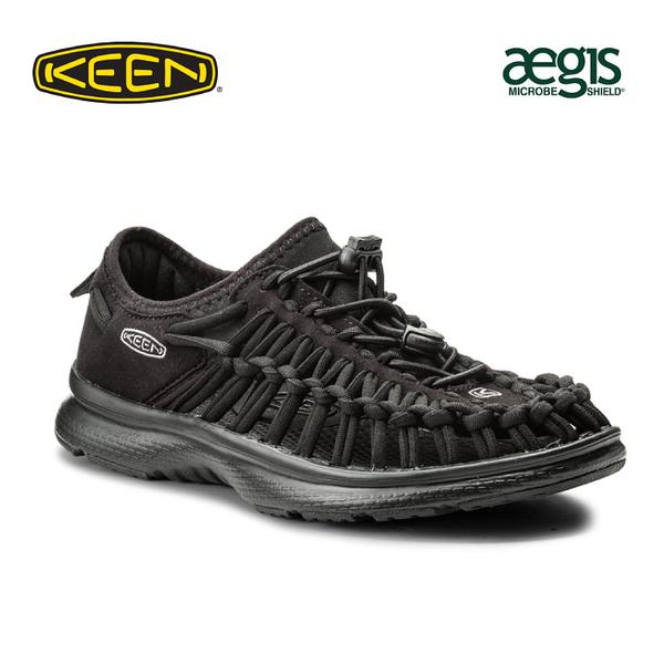 【KEEN 美國 女 編繩包鞋《黑》】1018723/織帶涼鞋/輕量/戶外休閒鞋/運動涼鞋