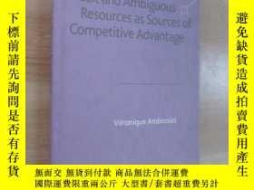 二手書博民逛書店英文書罕見Tacit and Ambiguous Resources as Sourcer of Competit