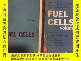 二手書博民逛書店FUEL罕見CELLS 燃料電池 第1、2卷,二本合售(英文)Y
