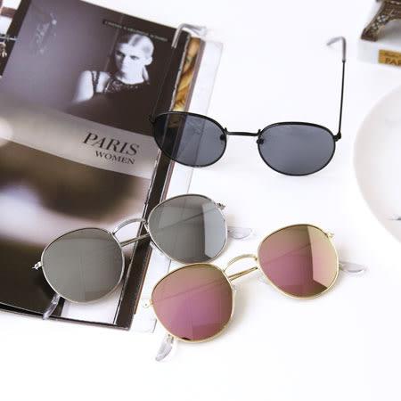 復古圓框百搭彩膜太陽眼鏡 眼鏡 太陽眼鏡 彩膜 圓框眼鏡 裝飾眼鏡 復古 文青