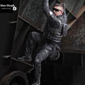 戶外軍迷TPU機動腿包執勤勤務多功能腰腿包 潮男街 【ManShop】