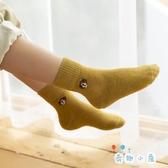 5雙組 保暖兒童襪子純棉秋冬季棉襪寶寶毛圈襪【奇趣小屋】