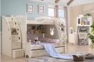 【大熊傢俱】LB A09兒童組合床 歐式 兒童床組合床  梯櫃床 三抽拖床  雙層床 上下床 子母床