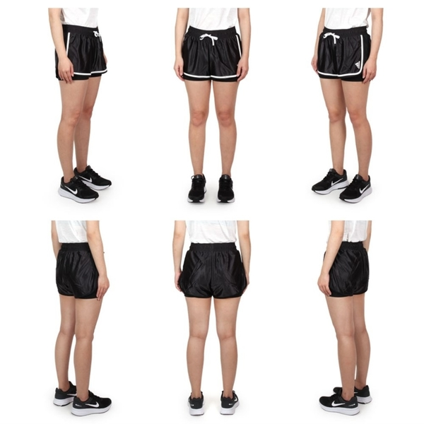 ADIDAS 女運動短褲(亞規 針織 慢跑 路跑 三分褲 愛迪達 免運 ≡排汗專家≡
