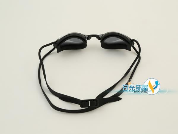 *日光部屋* arena (公司貨)/AGL-200PA-SMK 競泳/加強防霧/小鏡面泳鏡