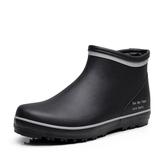 店長推薦★雨鞋男夏季透氣輕便水靴橡膠大碼短筒套鞋時尚低幫防滑防水鞋雨靴