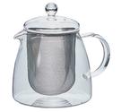 金時代書香咖啡 HARIO 耐熱泡茶玻璃壺 附濾網 700ml CHEN-70T