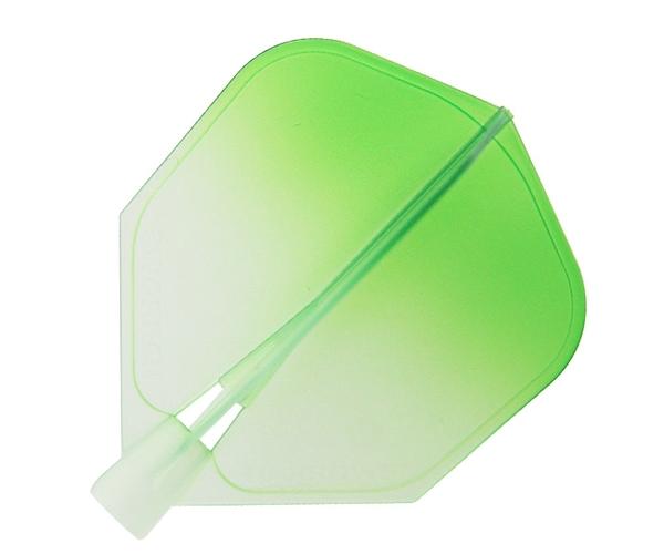 【Harrows】CLIC Shape WaterGreen Gradation 鏢翼 DARTS