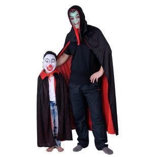 黑紅披風+面具親子套裝623g