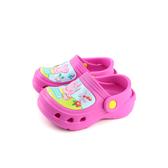 粉紅豬小妹 Peppa Pig 布希鞋 防水 雨天 童鞋 桃紅色 中童 PG0048 no729