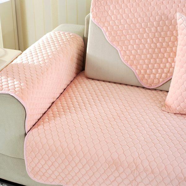 時尚簡約四季沙發巾 沙發墊防滑沙發套564 (70*120cm)