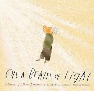 【麥克書店】ON A BEAM OF LIGHT /英文繪本《主題:人物傳記》