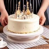 蛋糕轉盤裱花轉臺裱花臺旋轉臺做蛋糕的工具套裝全套生日烘焙家用 阿卡娜