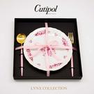 [送禮首選限量組合] 葡萄牙 Cutipol GOA系列個人餐具3件禮盒組-點心叉+匙+德國經典盤