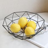 黑五好物節北歐鐵藝水果籃水果盤客廳現代簡約果盤創意家用茶幾收納籃