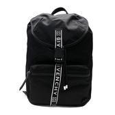 【台中米蘭站】全新品 GIVENCHY 4G 品牌logo標誌尼龍後背包(黑)