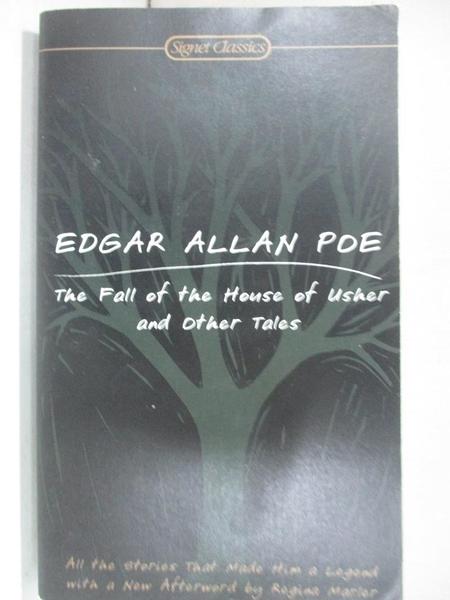 【書寶二手書T1/原文小說_BFW】The Fall of the House of Usher And Other..._Poe