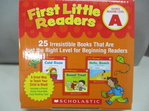 【書寶二手書T1/兒童文學_ARG】First Little Readers Guided Reading Level A_25本合售