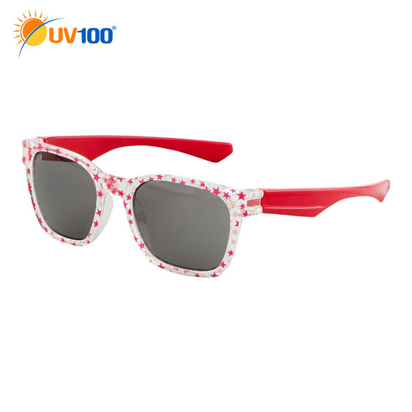 UV100 防曬 抗UV UV400兒童太陽眼鏡-繽紛夏日