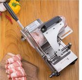 切肉機304不銹鋼凍肉羊肉捲切片機家用手動切肉機片肉切肉片LX 全館免運