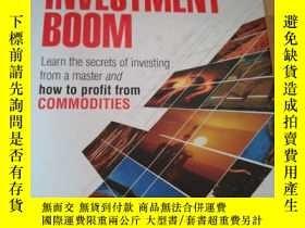 二手書博民逛書店The罕見Next Big Investment BoomY15