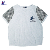【春夏新品】American Bluedeer - 貓鹿刺繡上衣(魅力價)  春夏新款