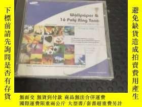 二手書博民逛書店Wallpaper罕見& 16 Poly Ring Tone 1CDY366402 三星